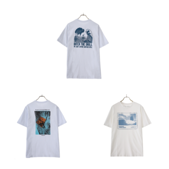 【patagonia】新作Tシャツ