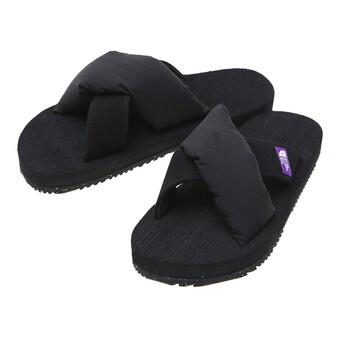 【パープルレーベル】 Lounge Nuptse Sandal