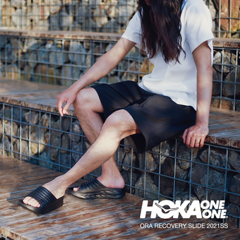【HOKA ONE ONE】リカバリーサンダル