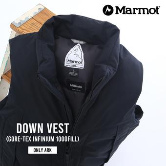 【ONLY ARK】別注 Down Vest  25周年別注発売されます