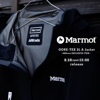 【ONLY ARK】別注 Marmot(マーモット) GORE-TEX 3L A Jacket