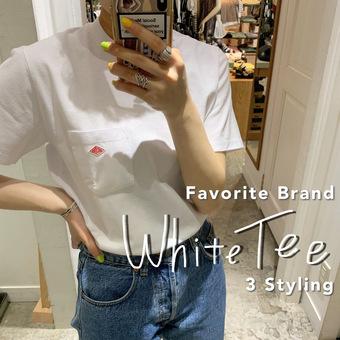 """人気ブランド """"White Tee"""" 特集"""