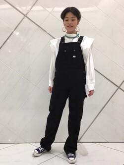 熊本COCOSA店のYUUKOさんのLeeの【Winter sale】ビックショルダーシャツを使ったコーディネート