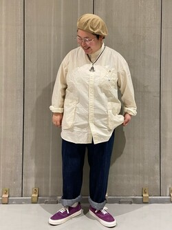 熊本COCOSA店のkazukiさんのLeeの【直営店・WEB限定】ビッグポケット シャツジャケットを使ったコーディネート