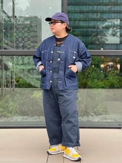 アミュプラザ熊本店のkazukiさんのLeeの終了【SALE】【軽くて涼しい】ライトウエイト エンジニアジャケット/デニムジャケットを使ったコーディネート