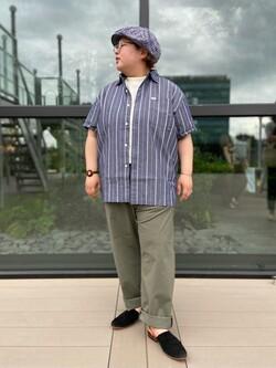 アミュプラザ熊本店のkazukiさんのLeeの【予約】【XSからXXLまでを1サイズでカバーする】FLeeasy イージーパンツ【6月下旬頃発送予定】を使ったコーディネート