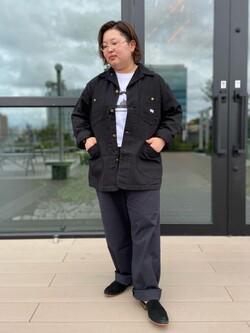 アミュプラザ熊本店のkazukiさんのLeeの【試着対象】【期間限定10%OFF】カバーオールジャケットを使ったコーディネート