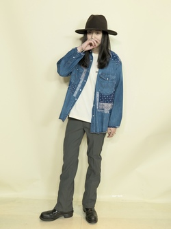Lee 名古屋店のTakayaさんののWrangler WRANCHER DRESS JEANS × N.HOOLYWOODを使ったコーディネート