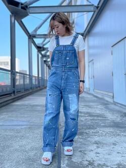 札幌パセオ店のChihiroさんのLeeの【再値下げSALE】【確実の1着】クルーネックTシャツを使ったコーディネート