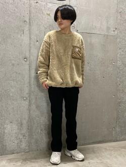 錦糸町PARCO店のEriさんのEDWINの【Winter sale】F.L.E フリースプルオーバーを使ったコーディネート