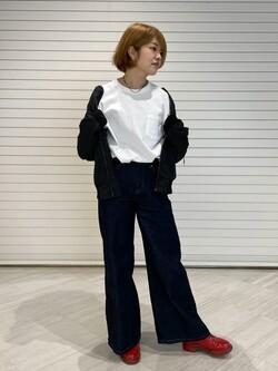 錦糸町PARCO店のKaeさんののL-2B ボンディングジャケットを使ったコーディネート