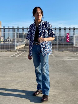 エスパル仙台店のRyuさんのLeeのAMERICAN RIDERS 101Z ストレートジーンズを使ったコーディネート