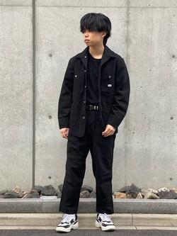 Lee 名古屋店のKazumaさんのLeeのカバーオールジャケットを使ったコーディネート