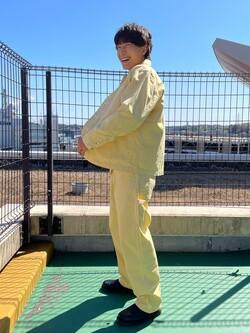 ららぽーと横浜のDaisukeさんのLeeの【セットアップ対応】ロコジャケット/カバーオールを使ったコーディネート