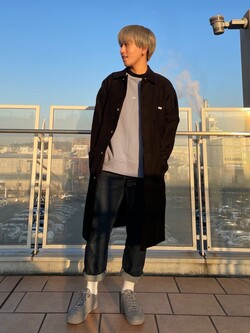 ららぽーと横浜のshoheiさんのLeeのAMERICAN RIDERS 101Z ストレートジーンズを使ったコーディネート