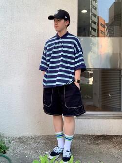 日暮里駅前店のDaichiさんのEDWINの終了【ガレージセール】アスレチック ショートパンツを使ったコーディネート