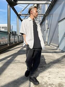 札幌パセオ店のgenさんのLeeの【再値下げSALE】ボックスフィット 半袖シャツを使ったコーディネート