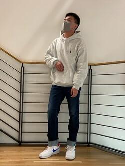 錦糸町PARCO店のつなさんのEDWINのジャージーズ レギュラーストレート【スタンダードモデル】を使ったコーディネート