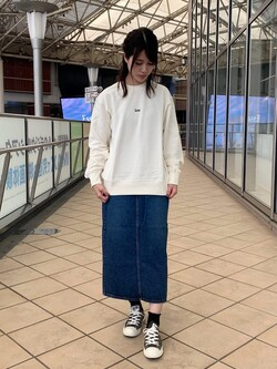 アミュプラザ鹿児島店のrihoさんのLeeの【試着対象】STANDARD WARDROBE スカートを使ったコーディネート