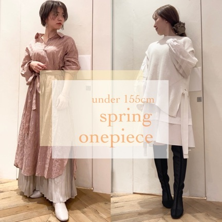 under 155cm spring onepiece