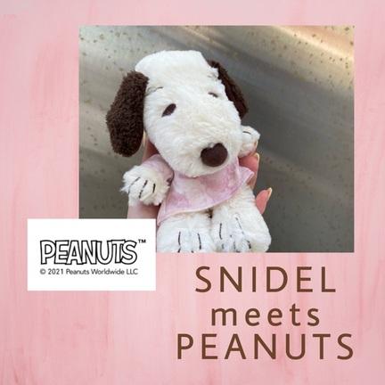 【 SNIDEL meets PEANUTS 】
