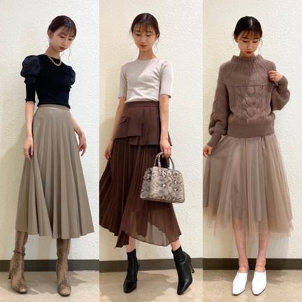 おすすめ秋スカート
