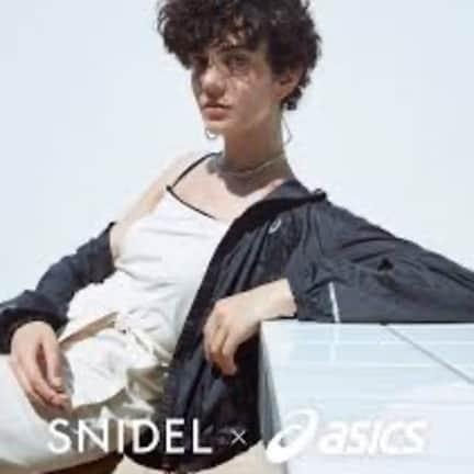 ❤︎ SNIDEL × asics コラボアイテム