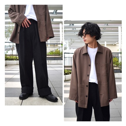 【PORT by ARK】10/3発売 クラシックなCoverall & Trousers