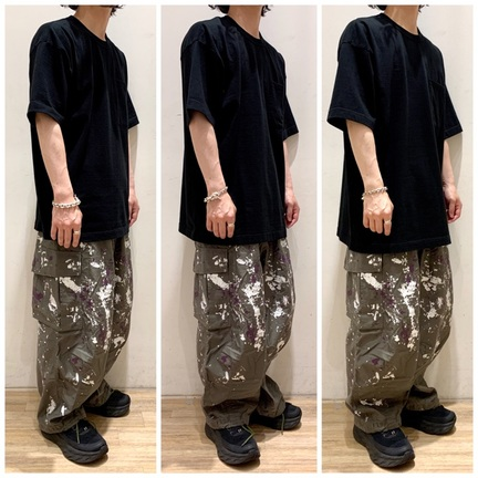 【SIZE GUIDE】GOLD/WIDE Tee