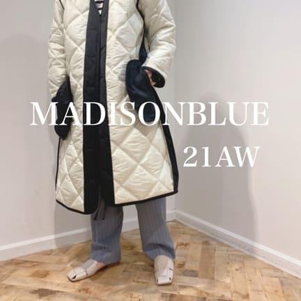 【MADISONBLUE(マディソンブルー)】21秋冬コート入荷しました!