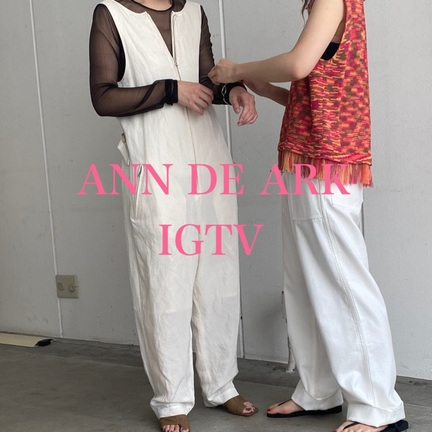 【 ANN DE ARK 】今週のIGTV!!
