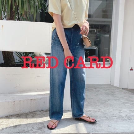 【RED CARD(レッドカード)】新入荷デニム紹介!