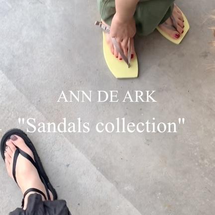 【ANN DE ARK IGTV】今から買うべきサンダル!