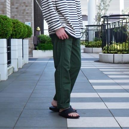 【orSlow】〜今トレンドのFATIGUE PANTS〜
