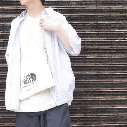 「GOLD」×「THOMAS MASON」シックなストライプシャツ