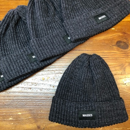 【MASSES】KNIT CAP CO.H