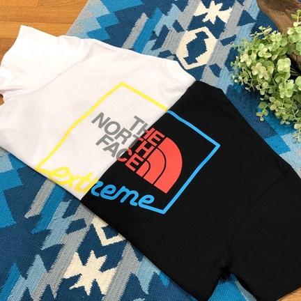 エクストリームなTシャツ。 【 THE NORTH FACE 】