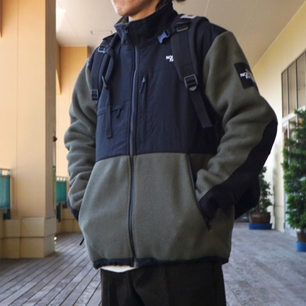 【 THE NORTH FACE 】デナリジャケットを着るナリ。