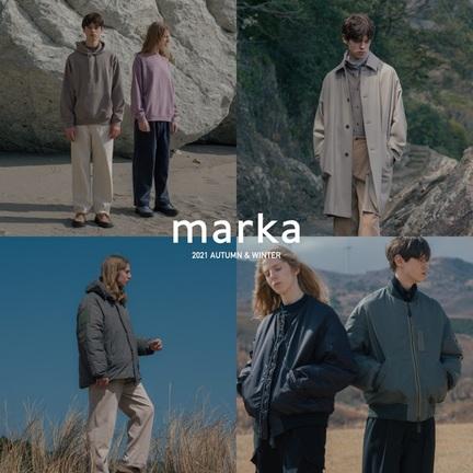 21年秋冬の、marka(マーカ)が公開!