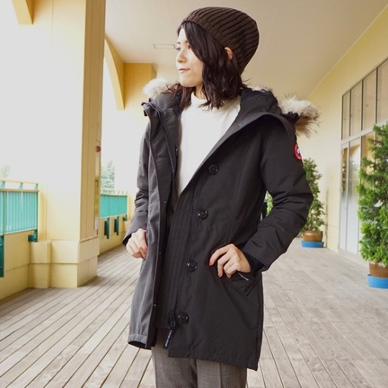 ROSSCLAIR PARKA を着たいんです。 【CANADA GOOGE】