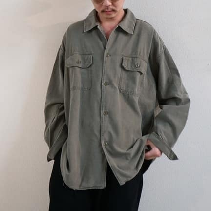 """REMI RELIEF NAVY LABEL """"ミリタリーシャツ"""""""