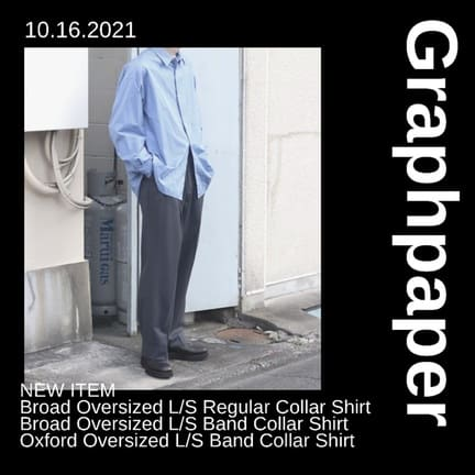 【Graphpaper(グラフペーパー)】21AW Collection New Delivery