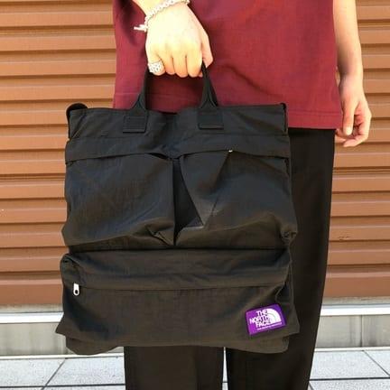 ノースフェイスパープルの2Way Bag