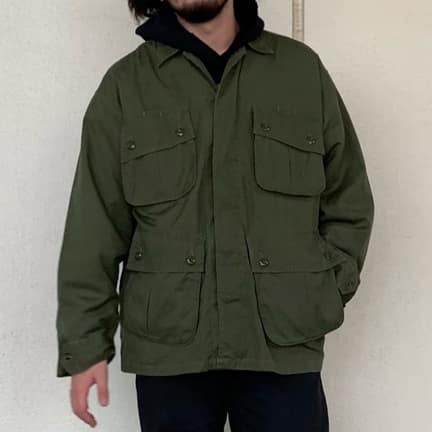 GOLD21AW COTTON WEATHER JUNGLE FATIGUE JACKET