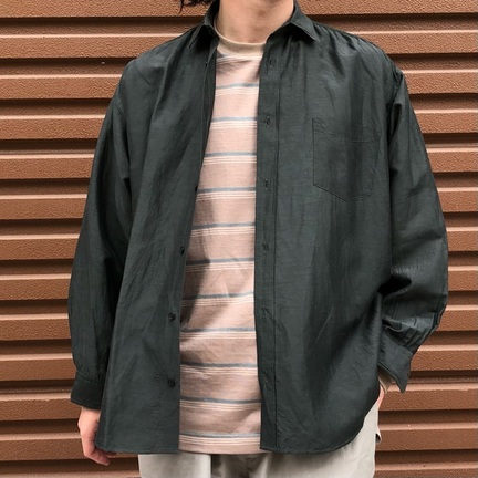 marka(マーカ) WIDE FIT SHIRT - cu/li/co cloth -