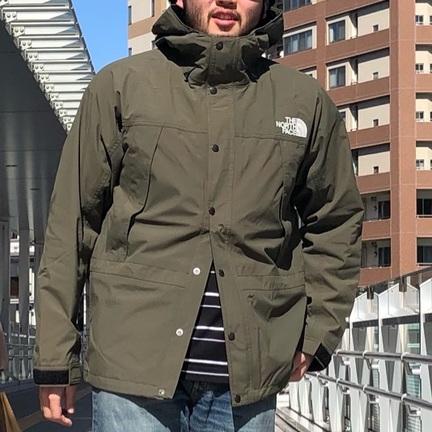 大人気!マウンテンライトジャケットの新色!「ニュートープ2」