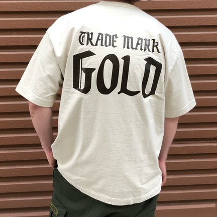 GOLD(ゴールド) 別注14/- HEAVY COTTON S/S WIDE T-SHIRT