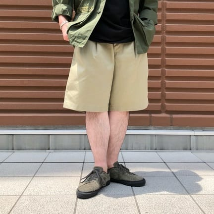 GOLD(ゴールド) WEAPON WIDE SHORTS