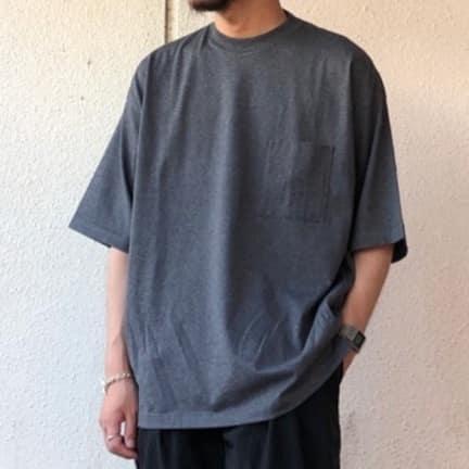 marka POCKET TEE - 40/2 combed knit -