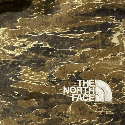 【THE NORTH FACE】今年のカモ柄